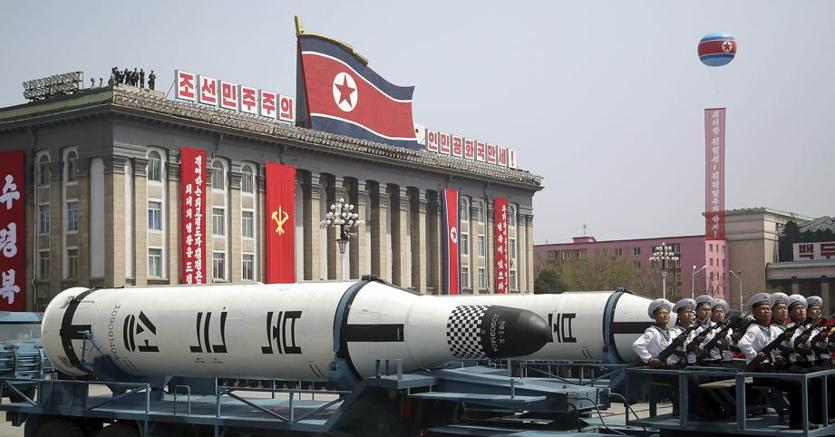 Una parata militare a Pyongyang